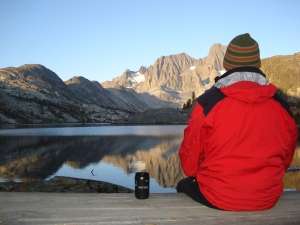 Morning Coffee in the High Sierras